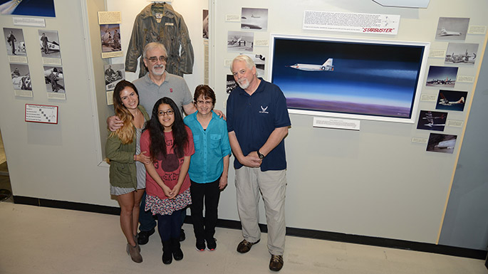 Test pilot's legacy honored