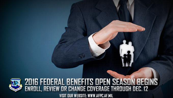 2016 Federal Benefits Open Season runs through Dec. 12