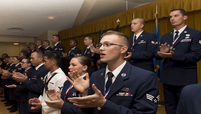 Airman Leadership School Class 16E graduates 30 future leaders