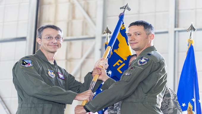 New leader for 416th FLTS