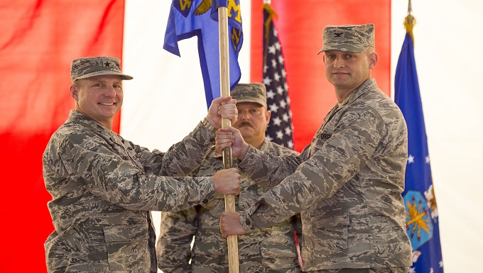 412th Maintenance Group change of command