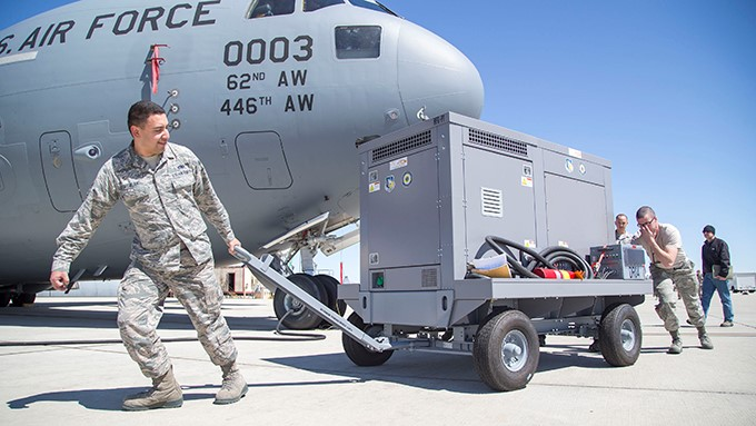 Hybrid generator could make aircraft maintenance more efficient, effective, user friendly